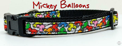 Mickey Balloons cat or small dog collar Disney 1/2