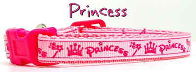 Princess cat or small dog collar 1/2