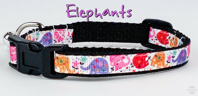 Elephants cat or small dog collar 1/2