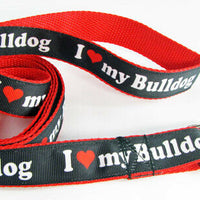 "Rolling Stones dog collar Rock N Roll handmade adjustable buckle 1""or 5/8""wide - Furrypetbeds"