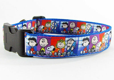 Peanuts dog collar handmade adjustable buckle collar 1