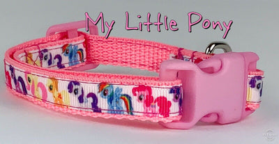 My Little Pony cat or small dog collar 1/2