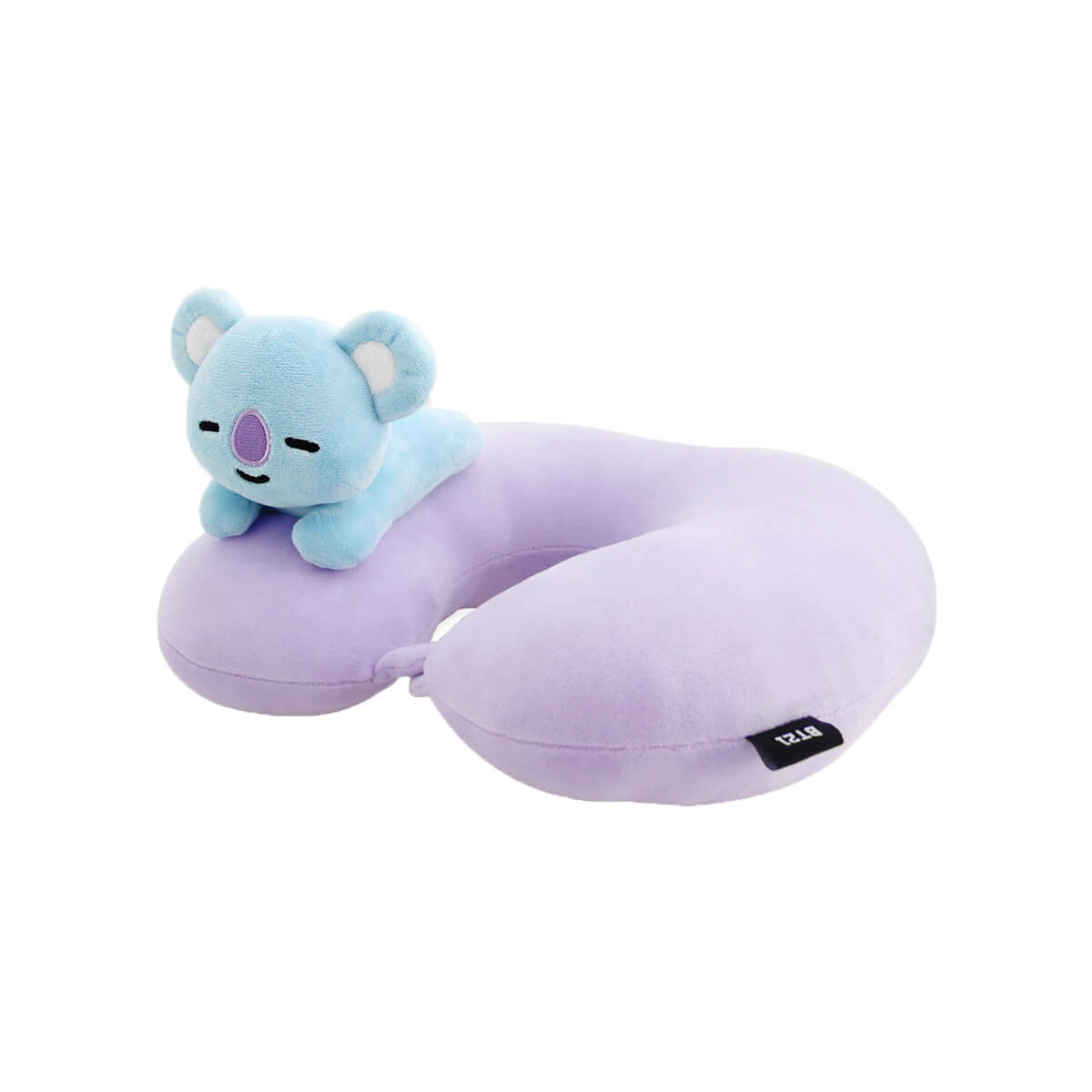 BT21 KOYA Figure Soft Travel Neck Pillow