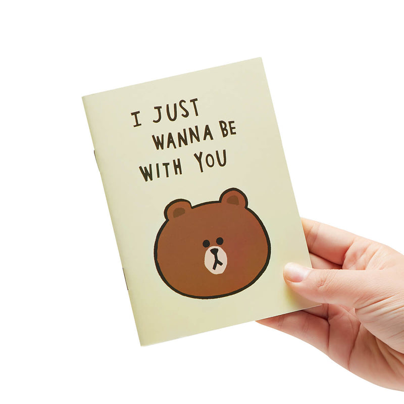 LINE FRIENDS A5 Note Set (4)