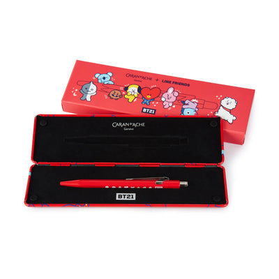 BT21 Caran d'Ache Edition Ball Pen