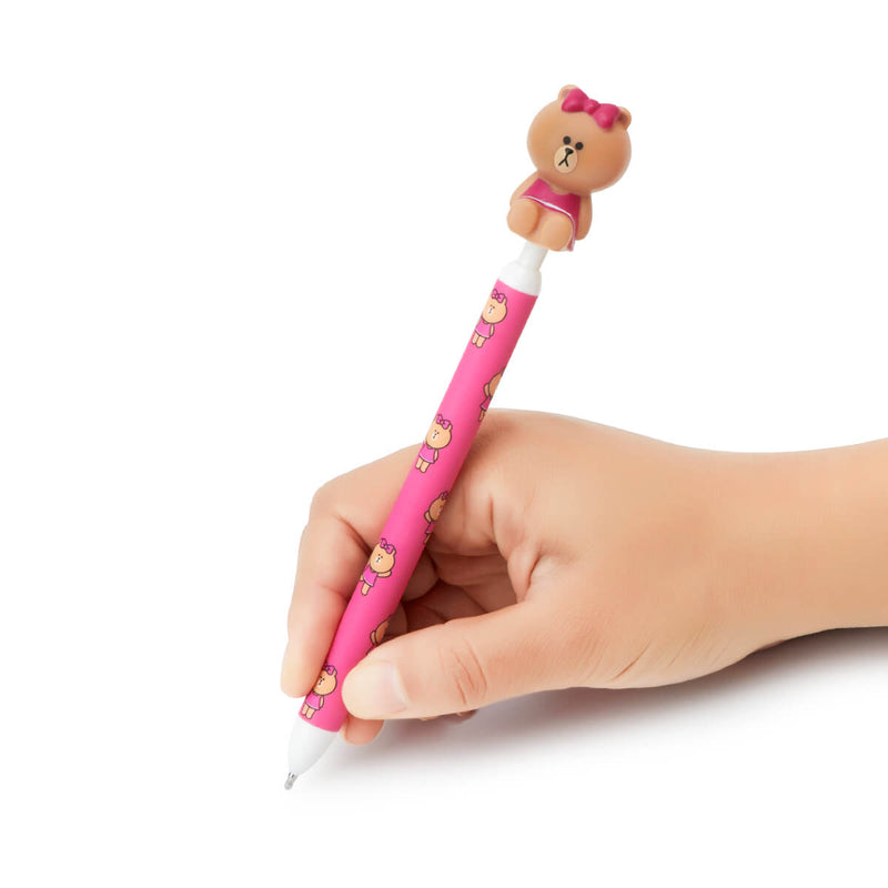 LINE FRIENDS CHOCO Figure Gel Pen
