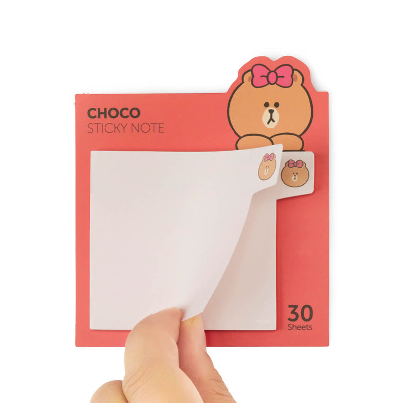 LINE FRIENDS CHOCO Sticky Memo