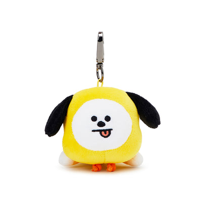 BT21 CHIMMY Soft Lying Plush Bag Charm