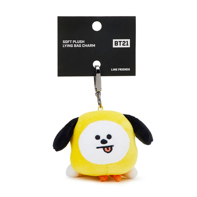 BT21 CHIMMY Soft Plush Lying Bag Charm