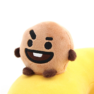 BT21 SHOOKY Figure Soft Travel Neck Pillow