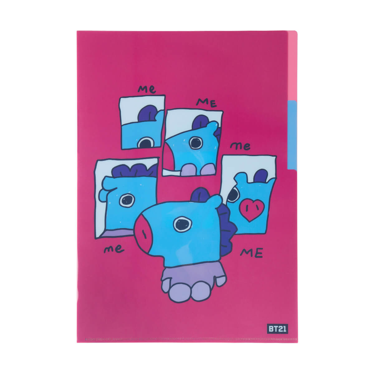 BT21 MANG 2 Pocket PP Folder