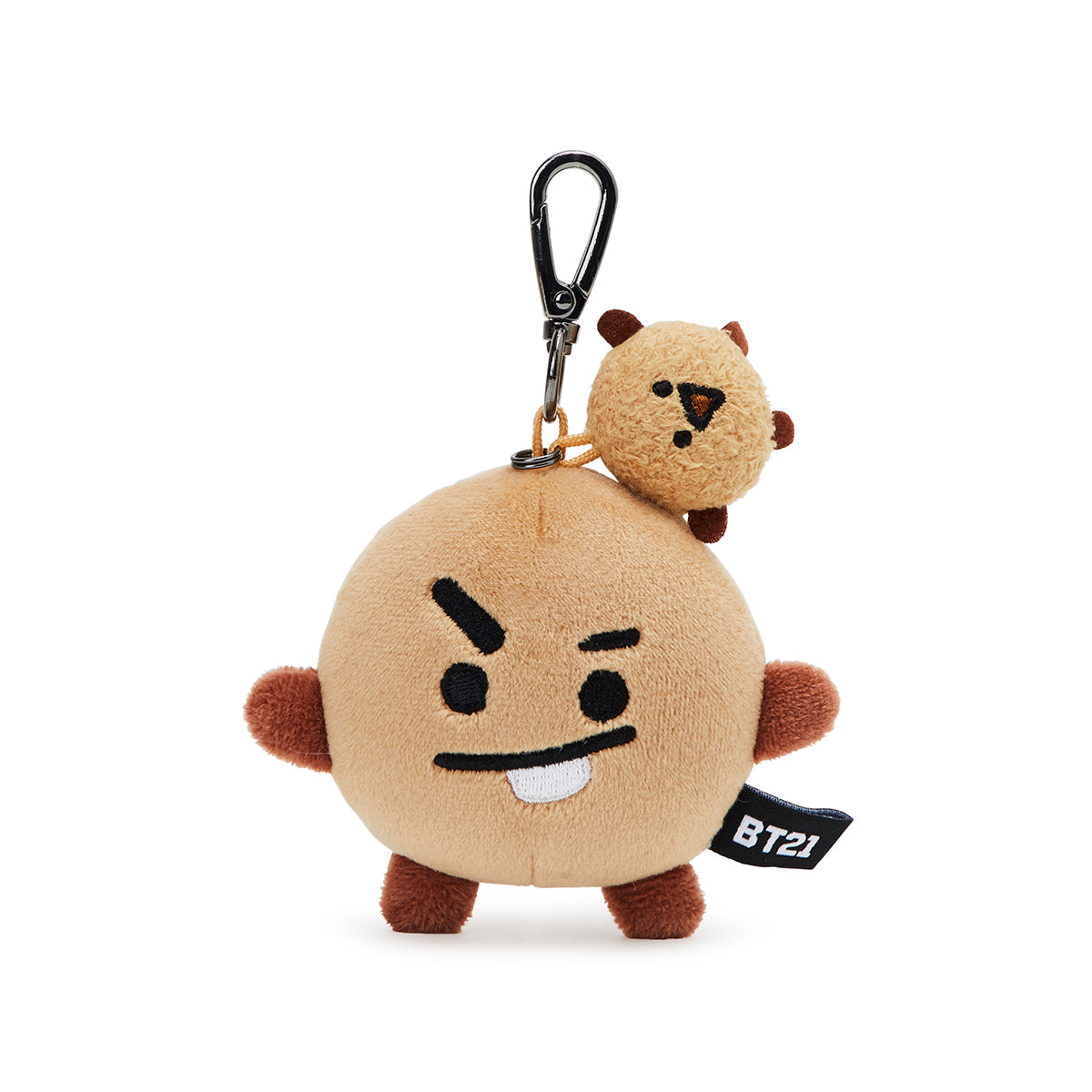 BT21 SHOOKY Soft Lying Plush Bag Charm