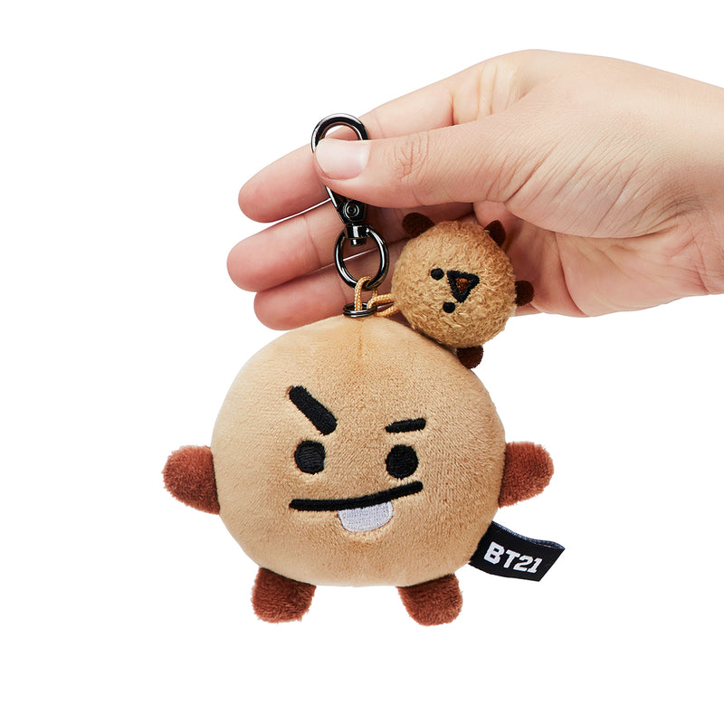 BT21 SHOOKY Soft Plush Lying Bag Charm