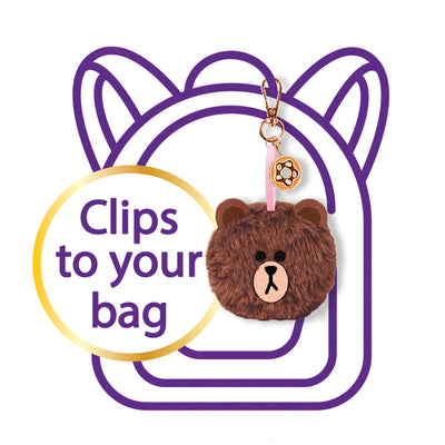 LINE FRIENDS DIY Fluffy Friends Bag Charm Kit