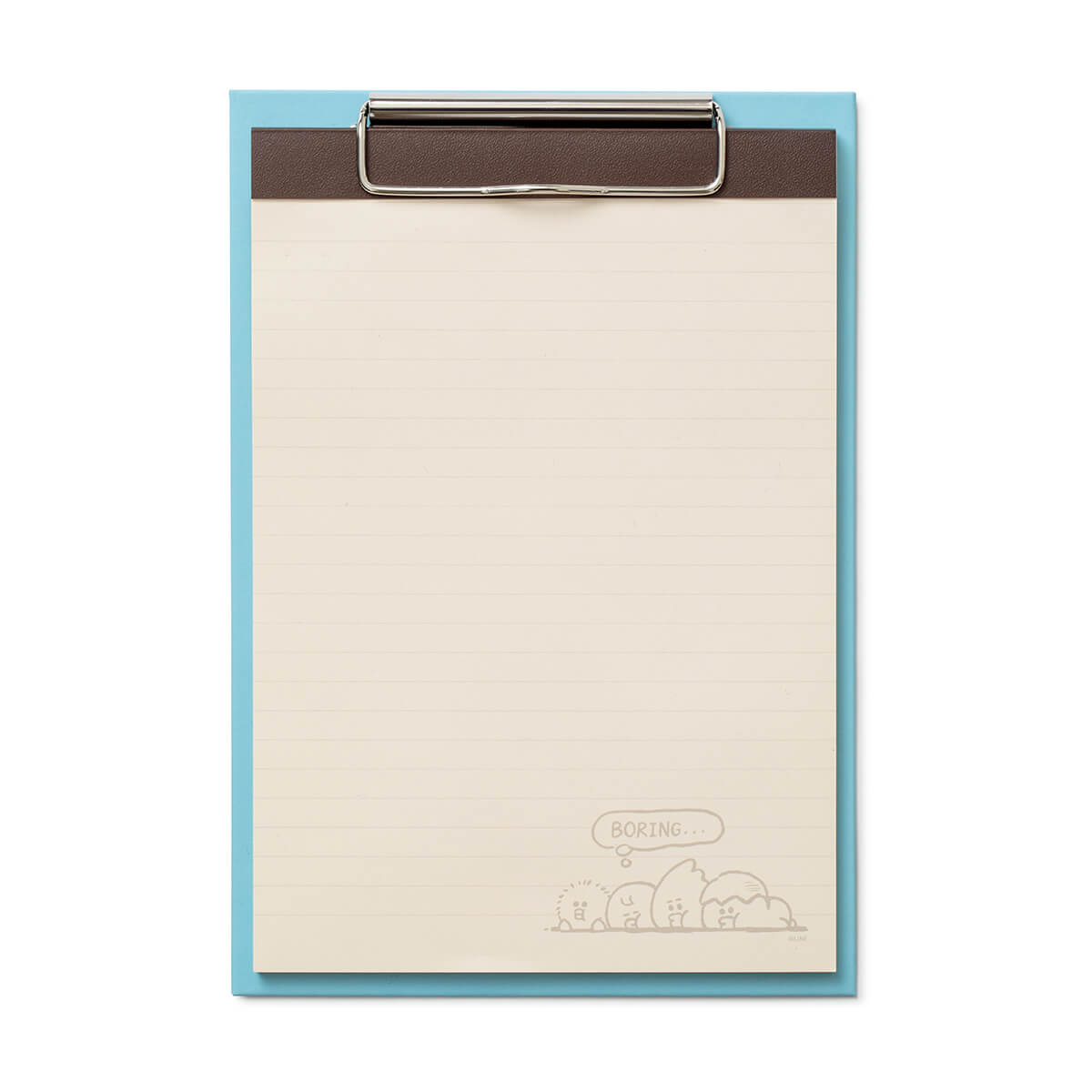 SALLY & FRIENDS Clip Board Notepad Set Blue