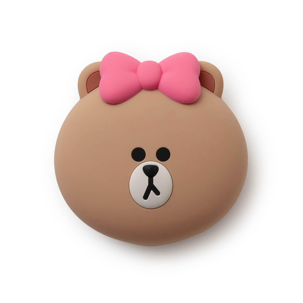 LINE FRIENDS CHOCO Silicone Face Pouch