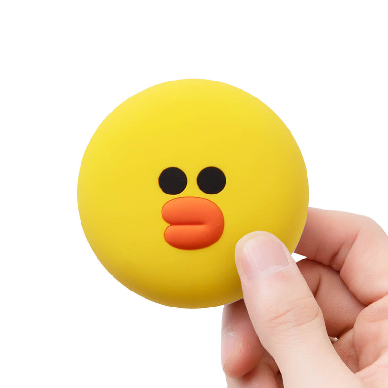 LINE FRIENDS SALLY Silicone Face Pouch