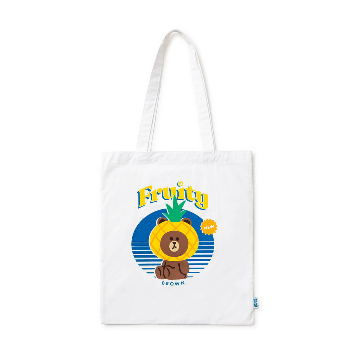 LINE FRIENDS BROWN Fruity Eco Tote Bag (M)