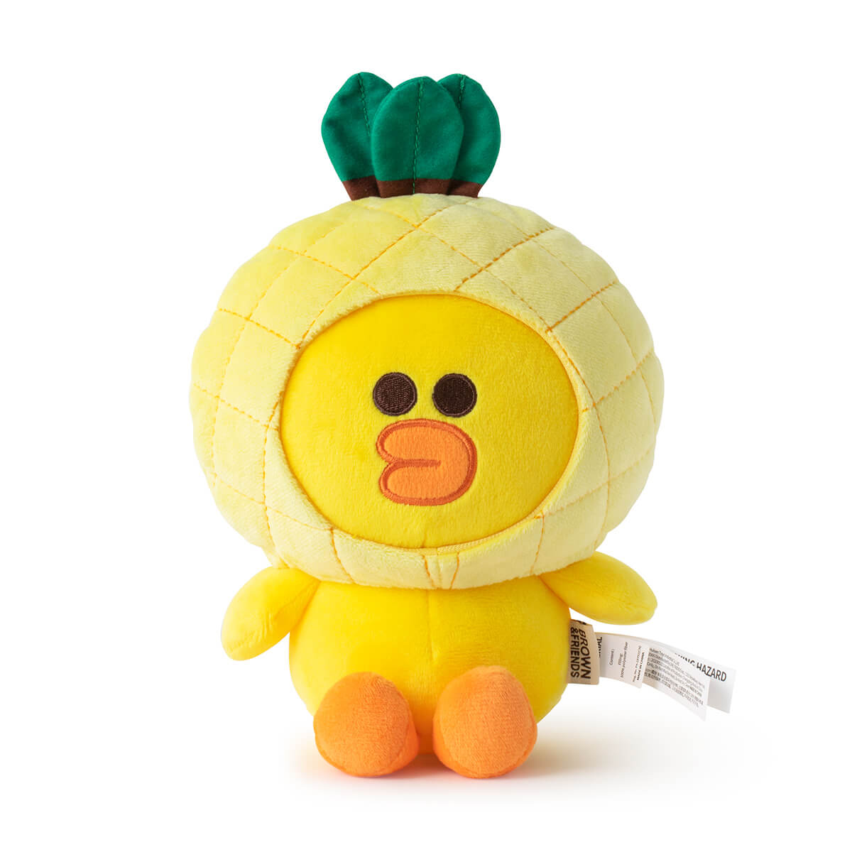 LINE FRIENDS SALLY Fruity Pineapple Sitting Doll (S)