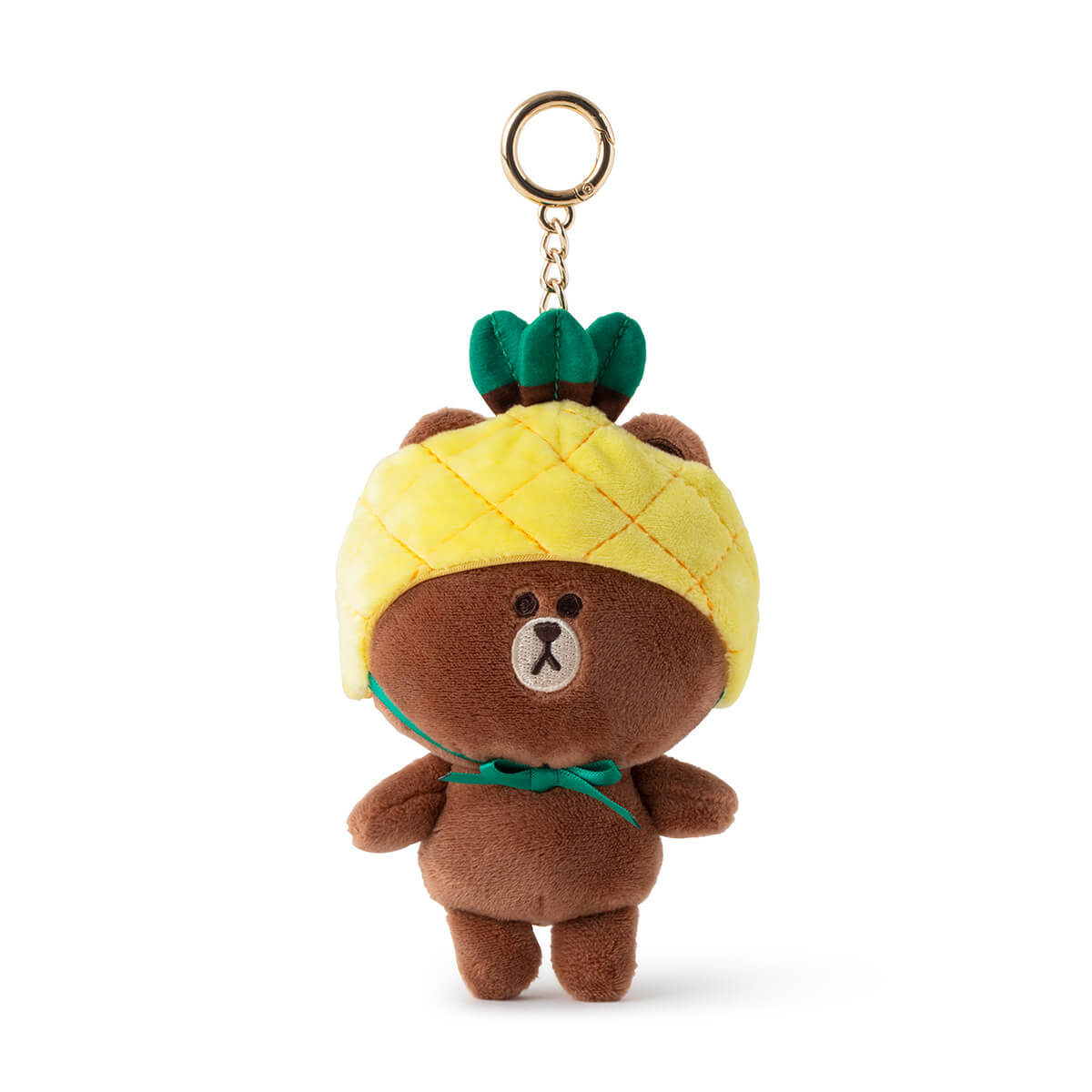 LINE FRIENDS BROWN Fruity Plush Bag Charm