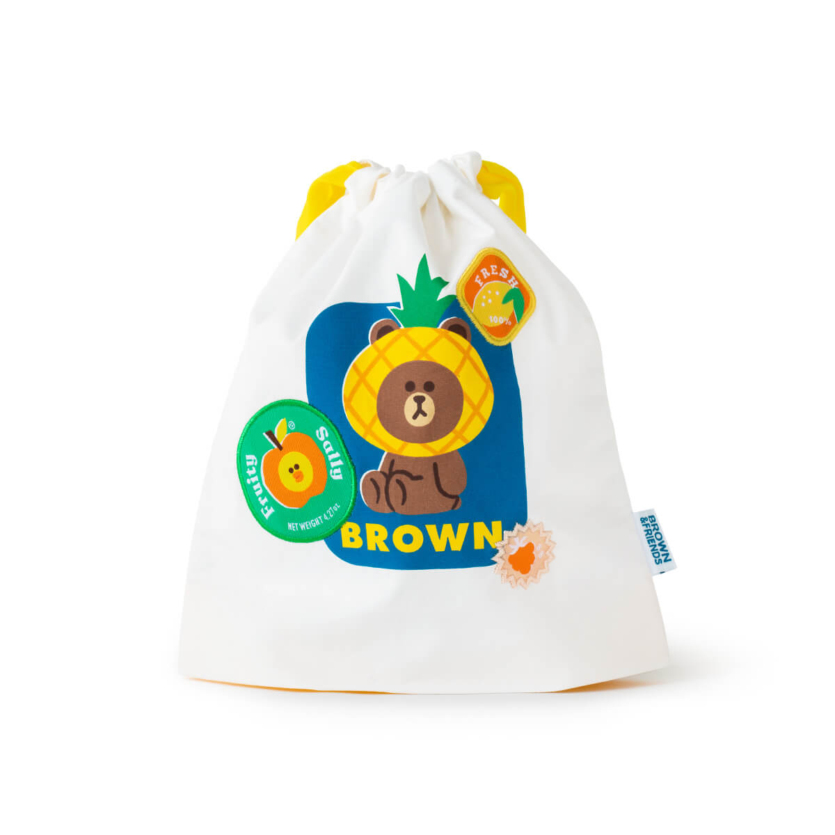 BROWN & SALLY Fruity Drawstring Pouch