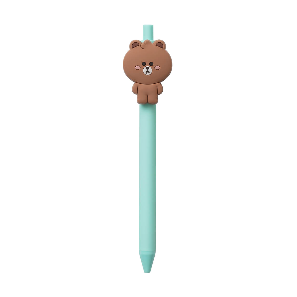LINE FRIENDS BROWN MINI FRIENDS Gel Pen (02)