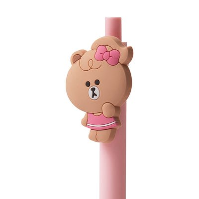 LINE FRIENDS CHOCO MINI FRIENDS Gel Pen (02)