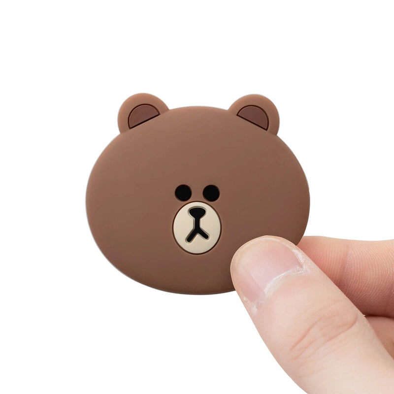 BROWN Silicone Face Smart Tok