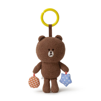 "LINE FRIENDS BROWN Organic Cotton Nursery Mobile Doll (5.1"")"