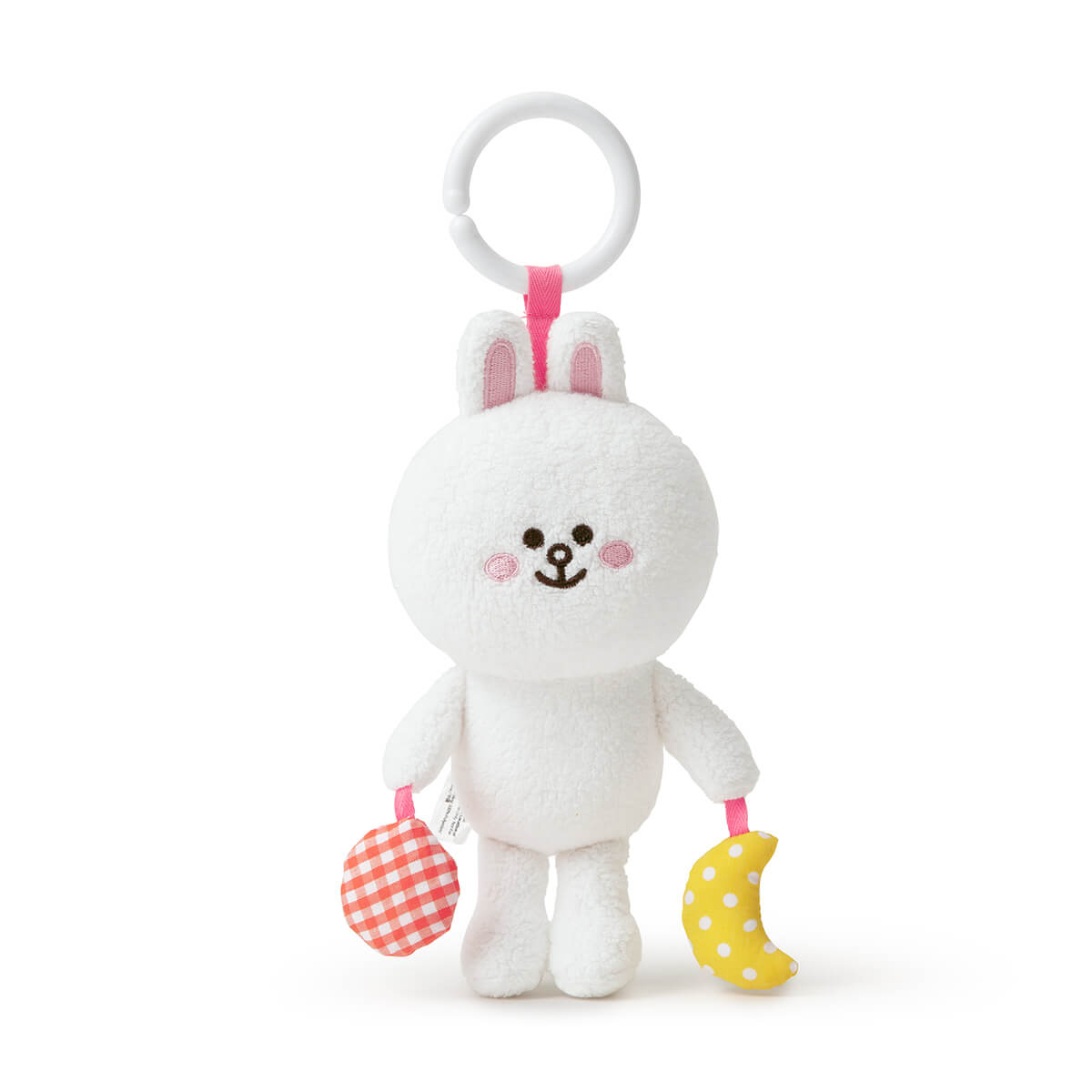 "LINE FRIENDS CONY Organic Cotton Nursery Mobile Doll (5.1"")"