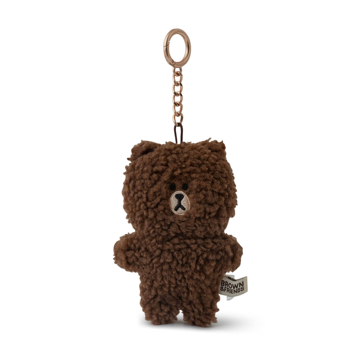 LINE FRIENDS BROWN Boucle Doll Keychain