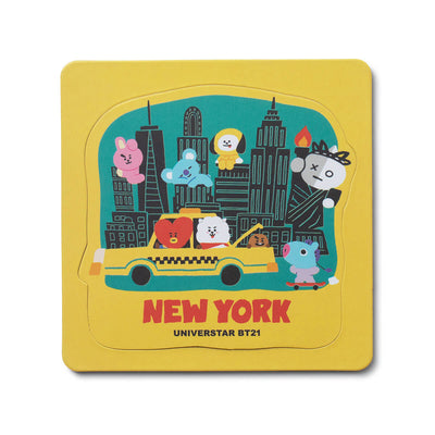 BT21 NY City Edition Die Cut Magnet