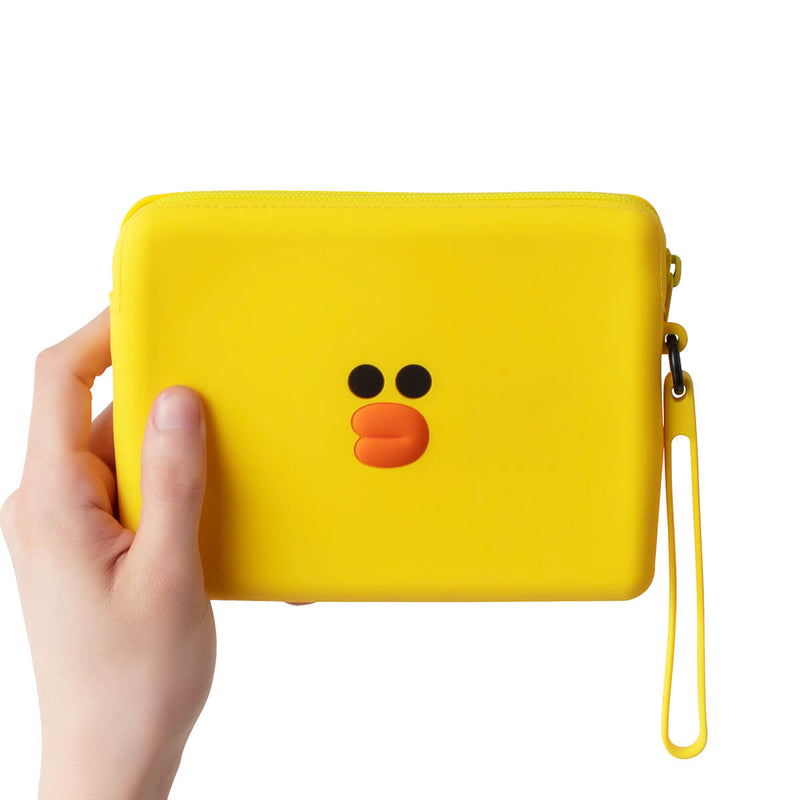 SALLY Silicone Square Pouch