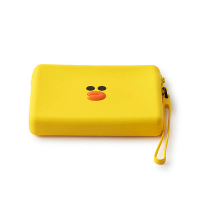 LINE FRIENDS SALLY Silicone Square Pouch