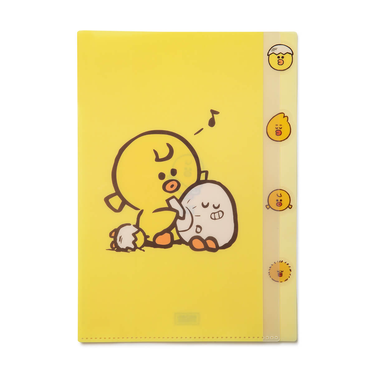 SALLY & FRIENDS Index PP Folder Yellow