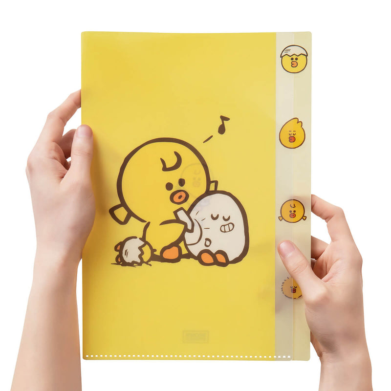 SALLY & FRIENDS Indx PP Folder Yellow