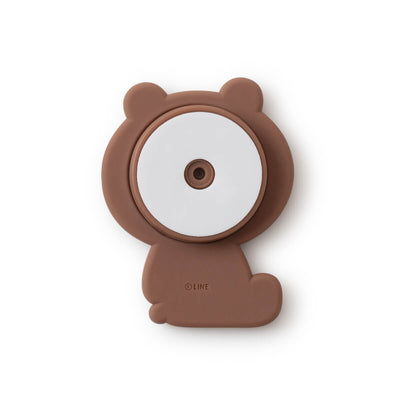 BROWN Silicone Sitting Smart Tok