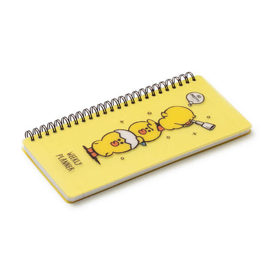 LINE FRIENDS SALLY FRIENDS Weekly Planner Yellow