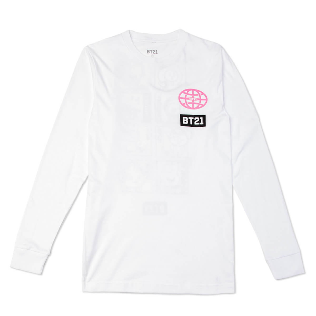 BT21 Comic Pop Long Sleeve