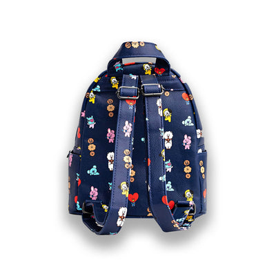 BT21 Pattern Mini Backpack