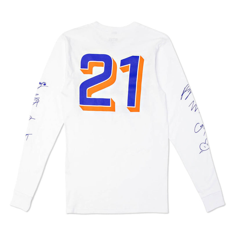 BT21 All Stars Long Sleeve w/ Signatures, White