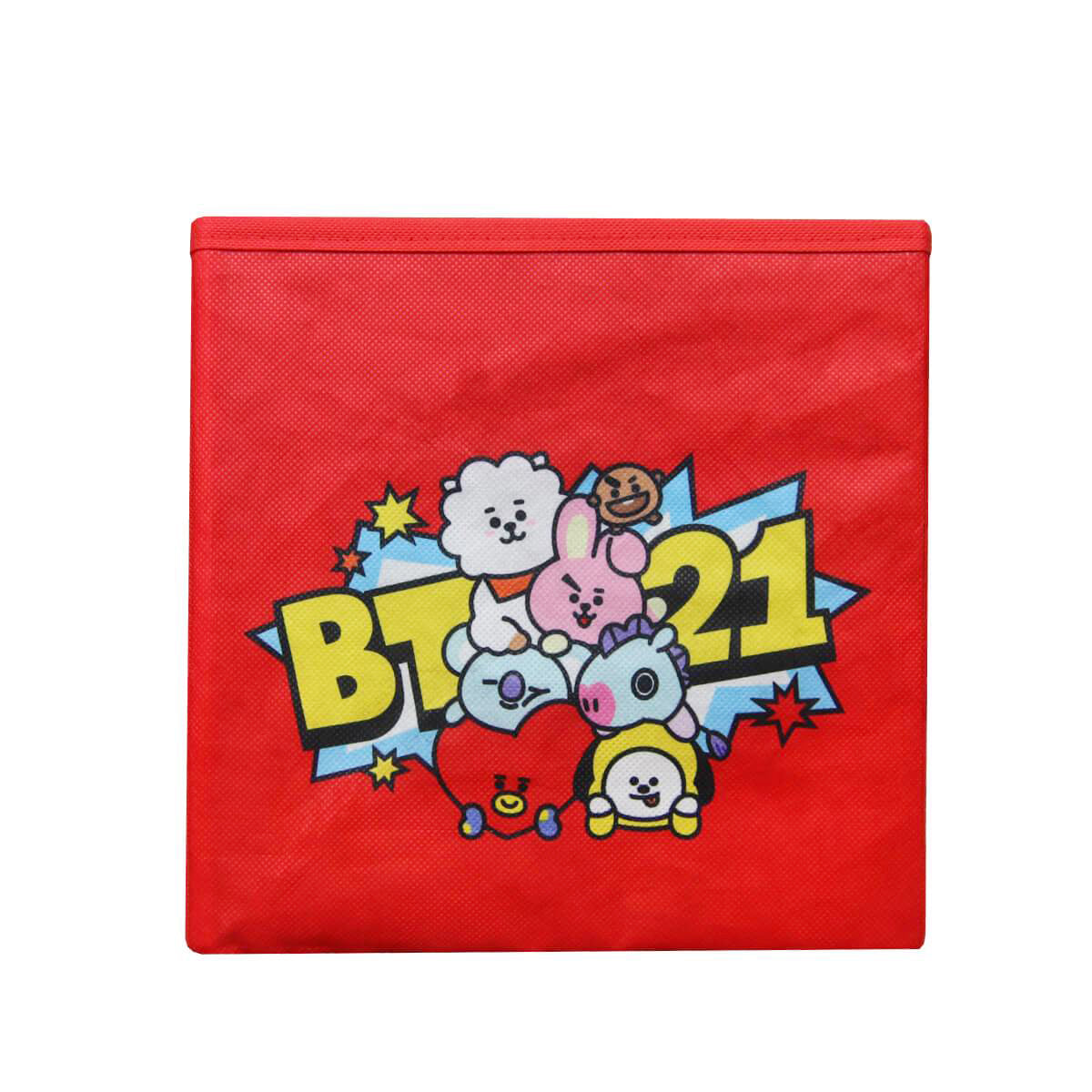 BT21 Collapsible Storage Bin