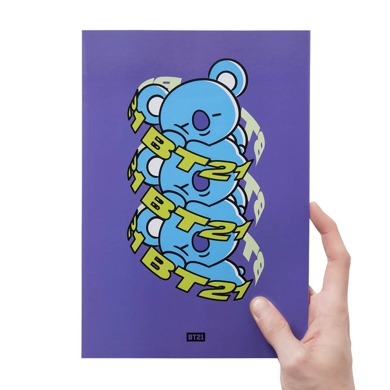 BT21 KOYA Heart B5 Notebook