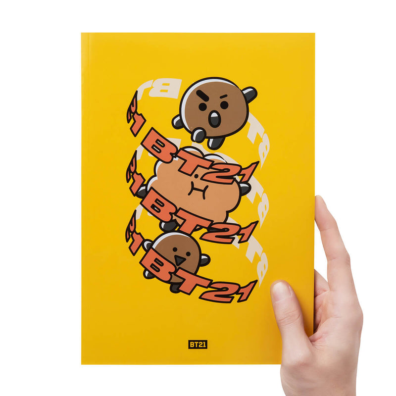 BT21 SHOOKY Heart B5 Notebook