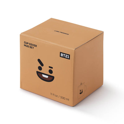 BT21 SHOOKY Basic Mug Cup & Cover