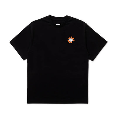 BT21 RJ 20 FLOWER T-Shirt Black