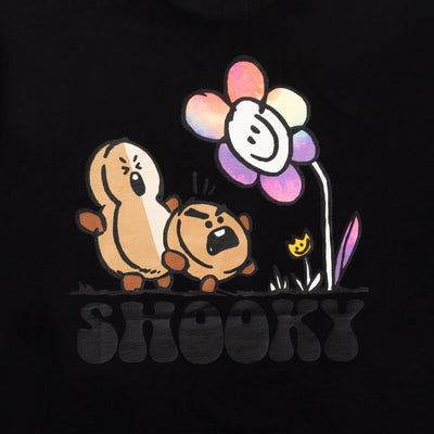 BT21 SHOOKY 20 FLOWER T-Shirt Black