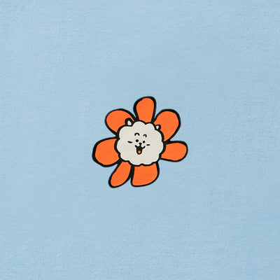 BT21 RJ 20 FLOWER T-Shirt Blue