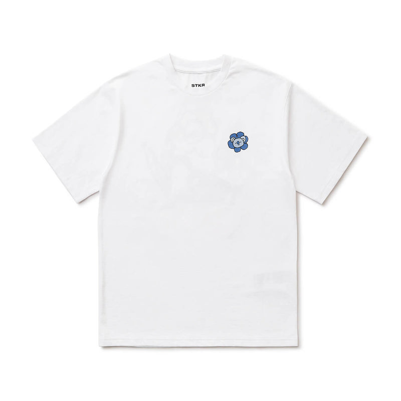 BT21 KOYA 20 FLOWER T-Shirt White