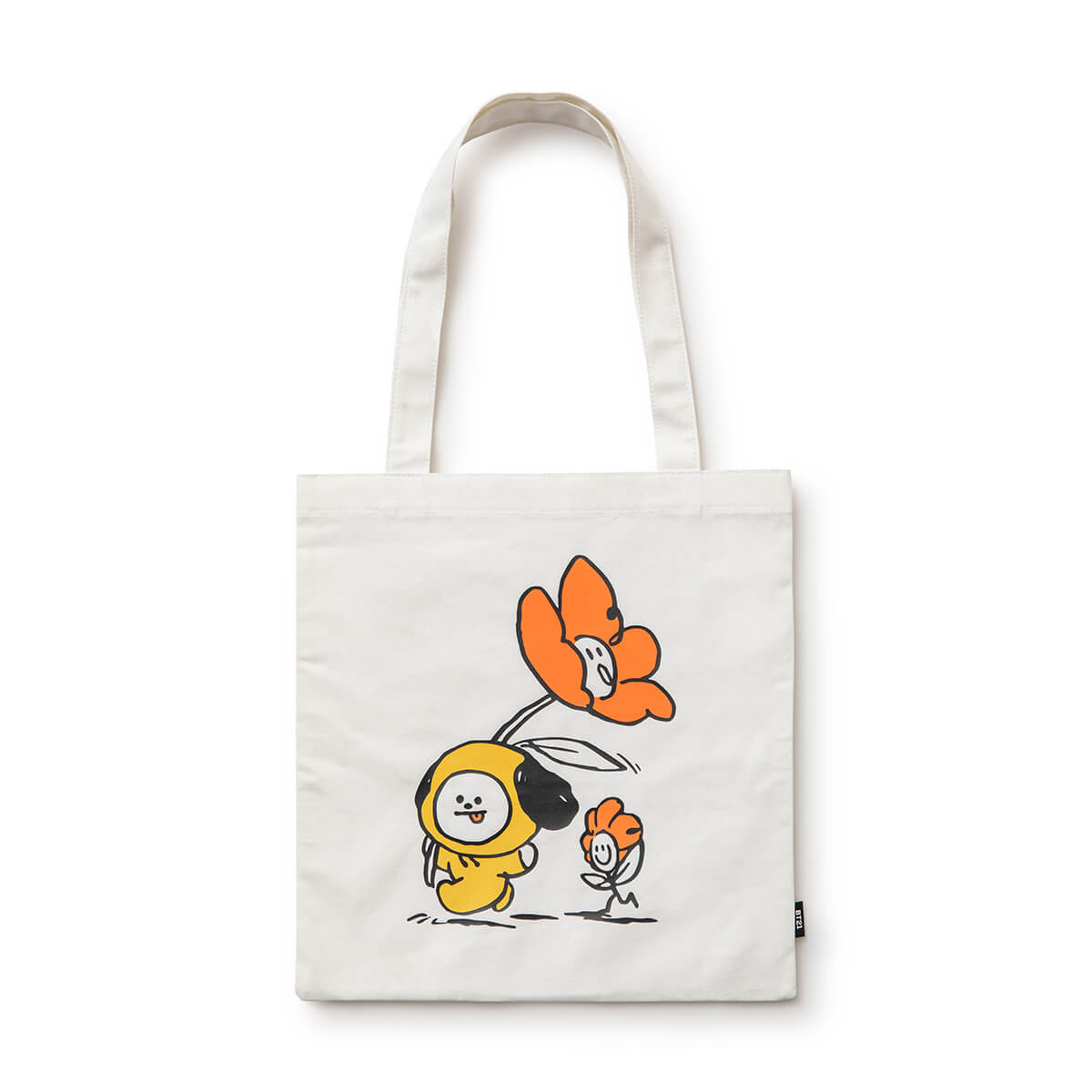BT21 CHIMMY Flower Eco Bag Ivory